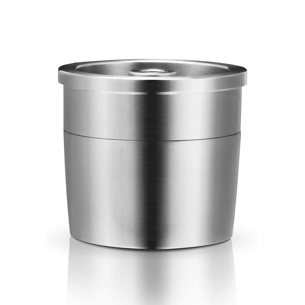 Decdeal Filtro Riutilizzabile Della Tazza Della Capsula Del Caff/è Delle Capsule Di Caff/è DellAcciaio Inossidabile Per Illy X9 X8 X7.1 Y5 Y3 Y1.1 Macchina Per Caff/è