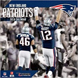 2019 New England Patriots New England Patriots 2019 Calendar: Lang Holdings Inc