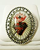Sacred heart of Christ brooch - BR02-055