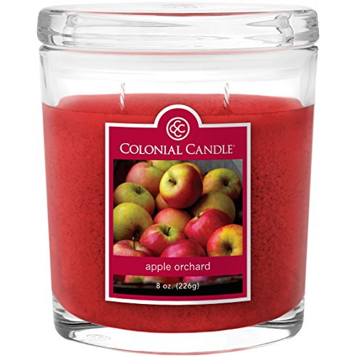 Apple Orchard Collection Large Oval Jar Colonial Candle, 22 oz