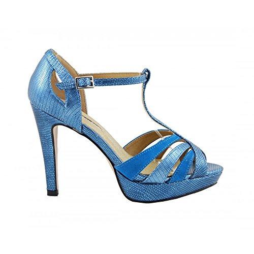 Ouvert Bleu Bout Benavente Ciel 110207 Femme qE106