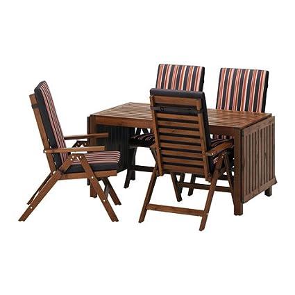 Marvelous Amazon Com Ikea Table 4 Reclining Chairs Outdoor Brown Creativecarmelina Interior Chair Design Creativecarmelinacom