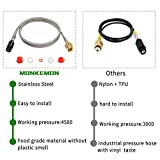 Upgraded Soda Stream Adapter Hose Kit, 60in CGA320