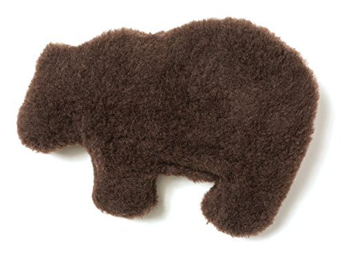 West Chocolate (West Paw Design Gallatin Grizzly Squeak Toy for Dogs (Chocolate))