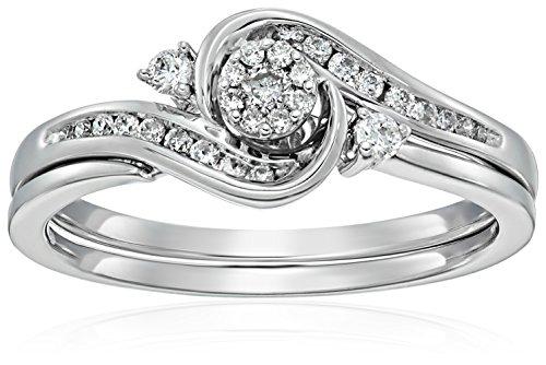 Diamond Bridal Jewelry Set - 5