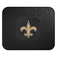 FANMATS NFL New Orleans Saints Vinyl Car Mat