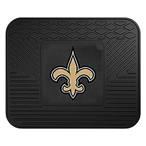 FANMATS NFL New Orleans Saints Vinyl Car Mat