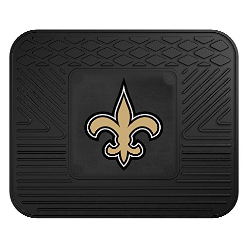 - FANMATS NFL New Orleans Saints Vinyl Utility Mat