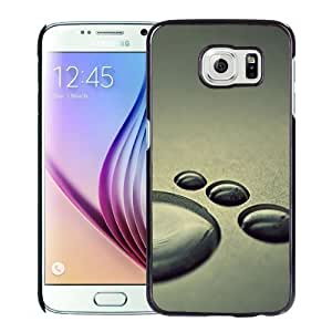 Fashion DIY Custom Designed Samsung Galaxy S6 Phone Case For Water Drops On The Ground Phone Case Cover