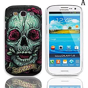 Buy Robot Series Pattern Hard Case with 3-Pack Screen Protectors for Samsung Galaxy S3 I9300 , H