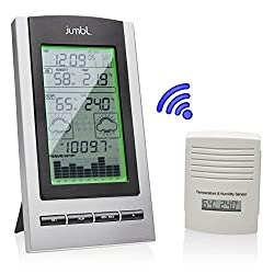 Jumbl Wireless Indoor & Outdoor Digital Weather Station