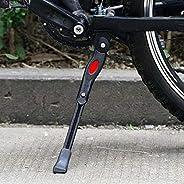 Bike Kickstands Side Kickstand Bike Stand Adjustable Bicycle Kickstand Bike Aluminum Parking Stand Bracket Mou