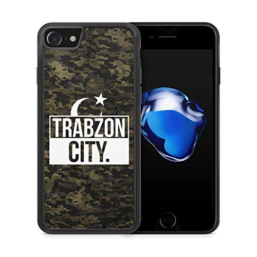 Trabzon City Camouflage - Hülle für iPhone 7 SILIKON Handyhülle Case Cover Schutzhülle Hardcase - Türkische Türkce Turkish Türkei Türkiye Turkey Türk Asker Militär Military Design
