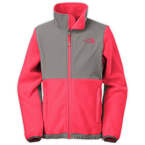 (The North Face Denali Girls Jacket in Rocket Red sz:S )