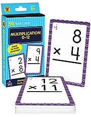 Brighter Child Flash Cards:Multipl.0-12