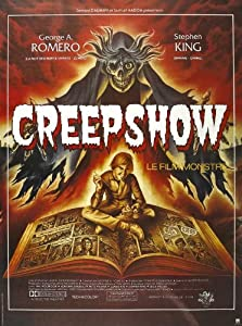 Creepshow Poster French 27x40 Hal Holbrook Adrienne Barbeau Viveca Lindfors from Pop Culture Graphics