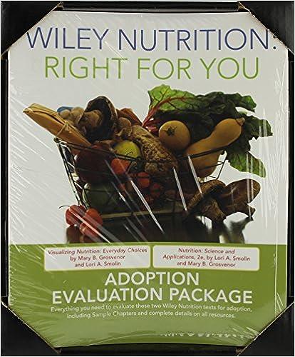 Combined Nutrition Evaluation Binder