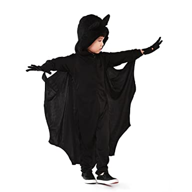 Pueri Disfraz de Halloween Ropa de Cosplay de Murciélago Traje de ...