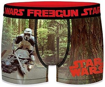 FREEGUN Lot de 3 Boxers Gar/çon Starwars Jedi Multicolore