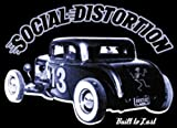 Licenses Products Social Distortion Hot Rod Sticker