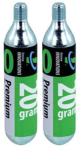 (Genuine Innovations G2131 Threaded CO2 Cartridge, 20 Gram (Pack of 2) by Genuine Innovations)