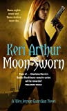 Front cover for the book Moon Sworn by Keri Arthur