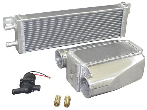 Heat Exchanger Water to Air Intercooler and Water Pump (Exchanger To Water Heat Air)
