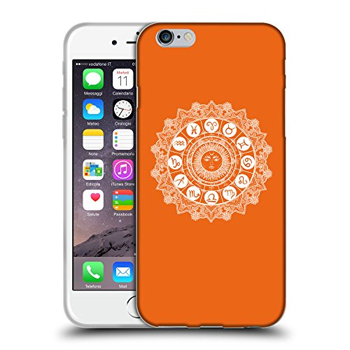 GoGoMobile Coque de Protection TPU Silicone Case pour // Q10060632 Zodiaque 2 sécurité Orange // Apple iPhone 6 PLUS 5.5""