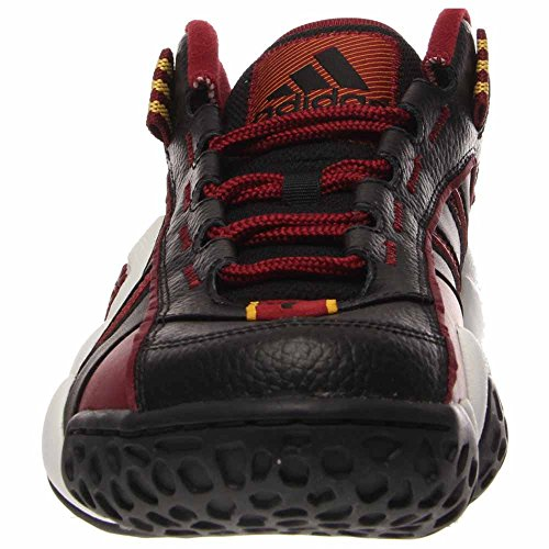 adidas, Sneaker uomo (Nero / Rosso / Bianco)