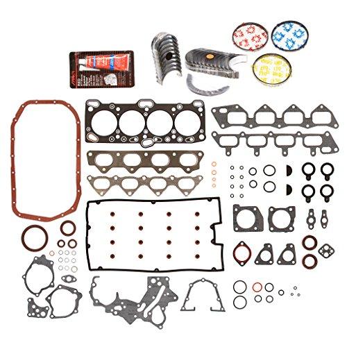 Evergreen Engine Rering Kit FSBRR5007-3EVE\0\0\0 Fits 06/97-99 Mitsubishi Eagle TURBO 2.0L 4G63T Full Gasket Set, Standard Size Main Rod Bearings, Standard Size Piston Rings