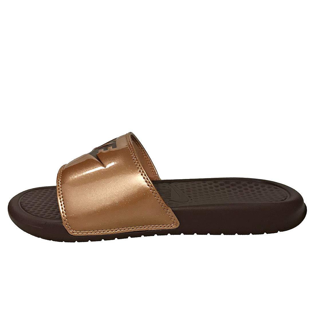 best website 53282 02988 Nike WMNS Benassi JDI Print, Chaussures de Plage   Piscine Femme