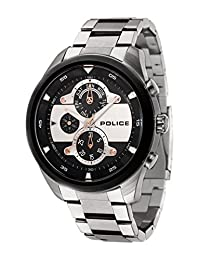 Police Men's PL14836JSTB02M Casual Marine Multifunction Watch with Date