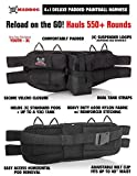 Maddog Azodin KAOS 2 Silver Paintball Gun Package - Red/Black