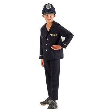 Krause & Sohn Disfraz de niños policía Matze 116-140 ...