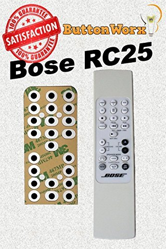 Bose RC-25 Button Repair Kit for Lifestyle Remote Control 20 25 & 30