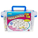 New Image Group SCFT300-74306 Kelly's Crafts Suncatcher Fun Tub-Magic Fairy Tale