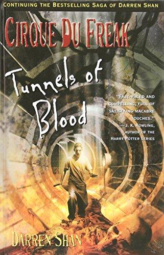 Print Tunnel Paw (Tunnels of Blood: Cirque Du Freak (Cirque Du Freak: the Saga of Darren Shan))