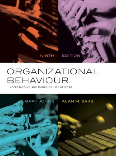 Organizational Behaviour: Understanding and Managing Life at Work with MyManagementLab
