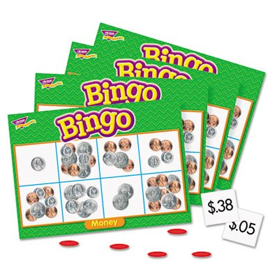 Money Bingo Games,36 Playing Cards,200 Chips,English, Sold as 1 Each