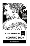 Zlatan Ibrahimovic Coloring Book: Chuch Norris of Football and Legend, LA Galaxy Star and Prolific Striker Inspired Adult Coloring Book