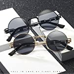 Dollger John Lennon Round Sunglasses Steampunk Metal Frame 6