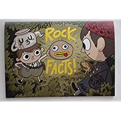 SDCC Exclusive 2017 Over The Garden Wall ROCK FACTS Zine SIGNED 375 / 500
