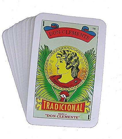 Amazon.com: Don Clemente - Juego de 4 tarjetas de juego ...