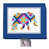 Oopsy Daisy A to Z Animal Prints Night Light, Elephant, 5'' x 4''