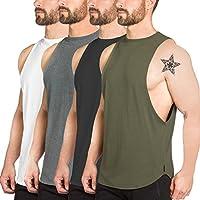 De los hombres Gimnasio tanque Tops Bodybuilding Camisetas