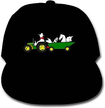 ADGoods Kids Children Railroad Crossing Sign Baseball Cap Adjustable Trucker Cap Sun Visor Hat For Boys Girls Gorra de béisbol para niños