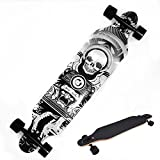 Ancheer Longboard Pro Drop Downhill Road Dacing 41' 9 Layer Canadian Maple Complete Freeride Long Skateboard for Kids Adults