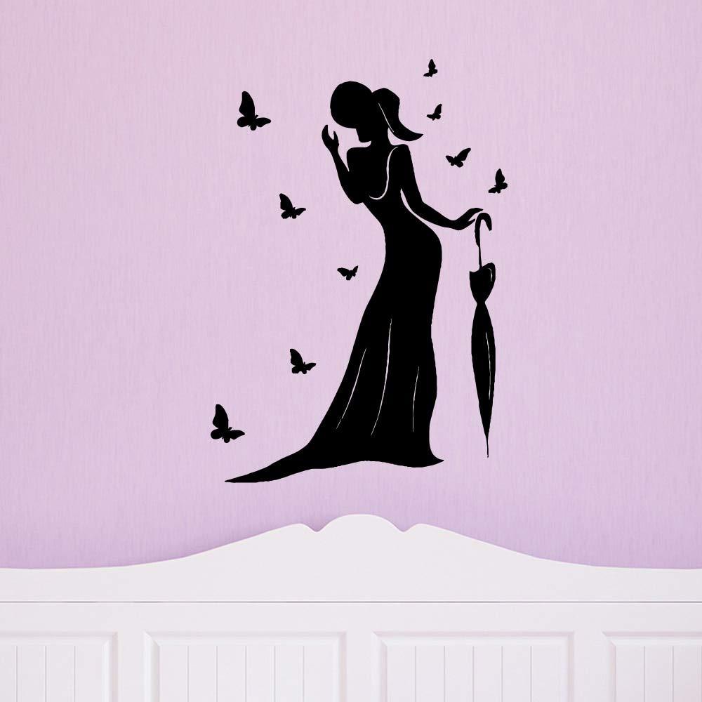 BailongXiao Mujer Delicada e Inteligente decoración del hogar Arte ...