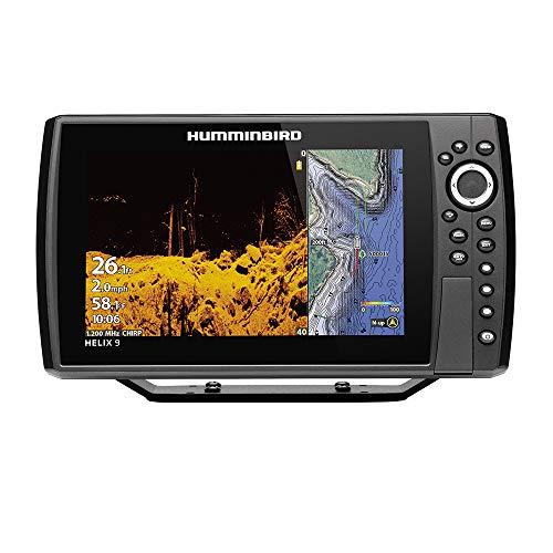 Helix 9 Chirp MEGA DI+ GPS G3N CHO Fishfinder with Bluetooth & Ethernet (Humminbird Helix 10 Mega Si G2n Gps)