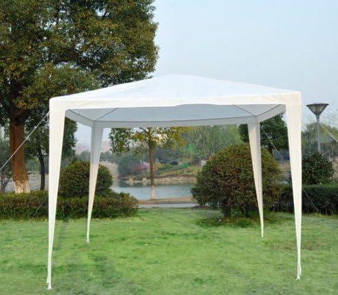 2, 7 x 2, 7 m blanco carpa toldo para boda, viene con necesario Asamblea partes – Ideal para comercial y uso recreativo: Amazon.es: Jardín